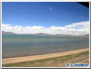 青海チベット鉄道の車窓より