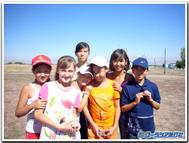 中央アジアの子供達
