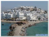ギリシア、ナクソス島にて
