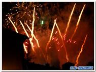 アポストル祭前夜の花火