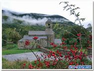 ボイの谷のロマネスク教会