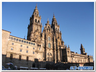 聖地サンティアゴ・デ・コンポステラの大聖堂
