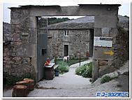 スペイン、サンティアゴ・デ・コンポステラへの道沿いの民家