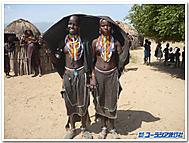 南エチオピアのエルボレ族