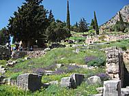 ギリシャ、デルフィのアポロン聖域