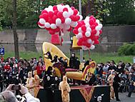 ベルギー、イーペルの猫祭りにて