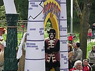 ベルギー、イーペルの猫祭りにて「長靴を履いた猫」