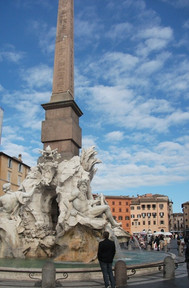 イタリア、ローマ、ナヴォーナ広場