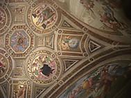 ヴァチカン博物館、ラファエロの間の天井