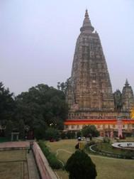 インド、マハーボーディ寺院