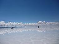 ユーラシア旅行社ウユニ塩湖ツアーにて
