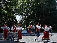 タリン旧市街祭にて