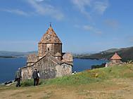 アルメニア、セヴァン湖と修道院