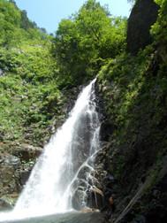 白神山地、暗門の滝
