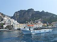 ユーラシア旅行社のイタリアツアーで行くポジターノ