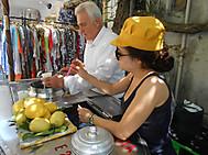ユーラシア旅行社のイタリアツアーで行くポジターノ(グラニータ屋を発見)