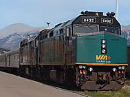 ユーラシア旅行社のカナダツアー、VIA鉄道