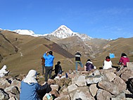 グルジア第2の高峰カズベキ山(5033m)