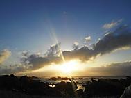 ユーラシア旅行社で行くアフリカツアー、アグラス岬にて初日の出