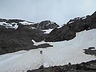 間近に迫る氷河