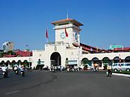 ユーラシア旅行社のベトナムツアー、ホーチミンのベンタイン市場