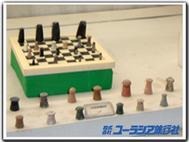 モヘンジョダロで発見されたチェス駒