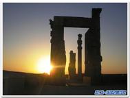 Persepolis_sunset