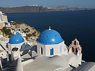 ギリシャ、サントリーニ島のイア