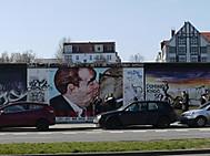 ベルリンの壁を利用したイーストサイドギャラリー