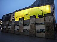 ポツダム広場のベルリンの壁