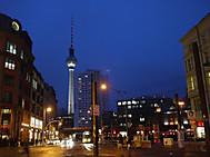 東ベルリン時代を象徴するテレビ塔