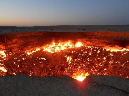 地獄の門ツアー、地獄の門旅行
