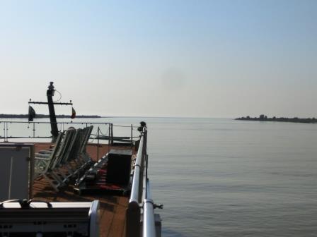 ついに見えた!黒海への出口