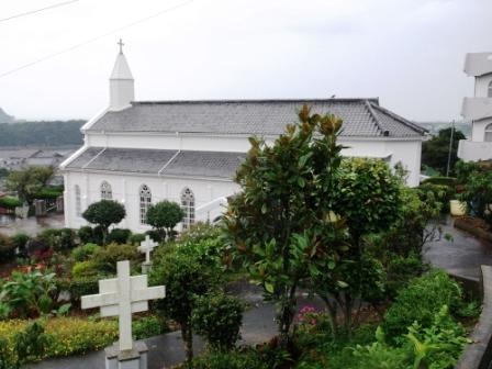 ユーラシア旅行社の日本ツアー、五島列島(福江島)の水ノ浦教会