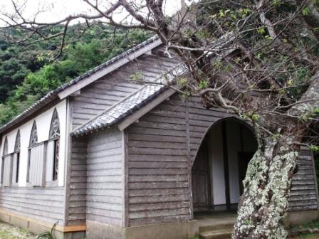 ユーラシア旅行社の日本ツアー、五島列島(久賀島)の旧五輪教会