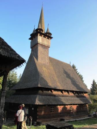 ブデシュティの木造教会