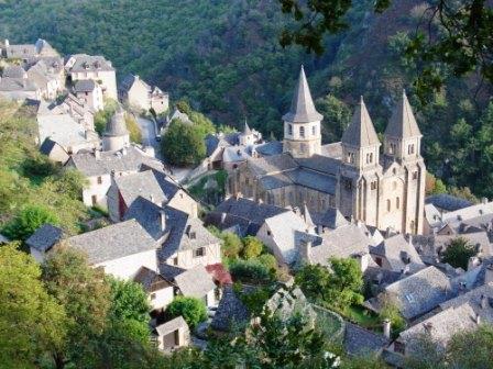 ユーラシア旅行社で行く南西フランスツアー、コンクにて