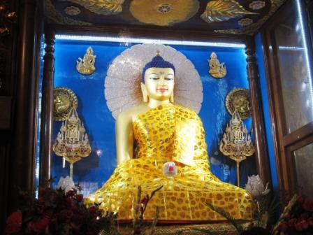 マハーボーディ寺院・仏像