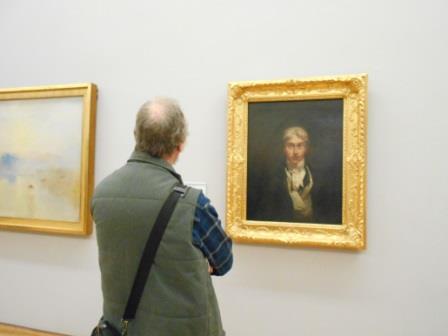 テート・ブリテンのターナーの肖像画