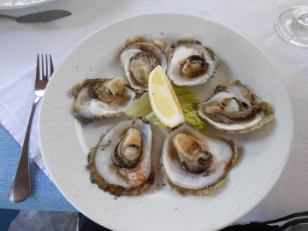 ユーラシア旅行社、クロアチア、ストンの牡蠣料理