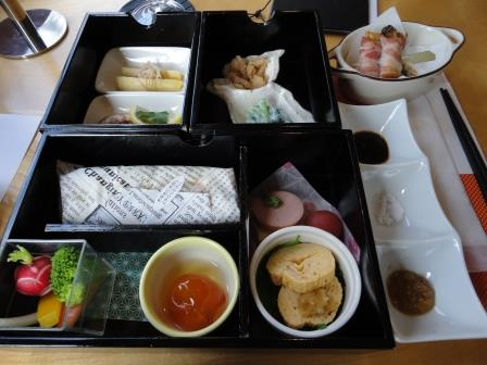 おれんじ食堂お食事の一例