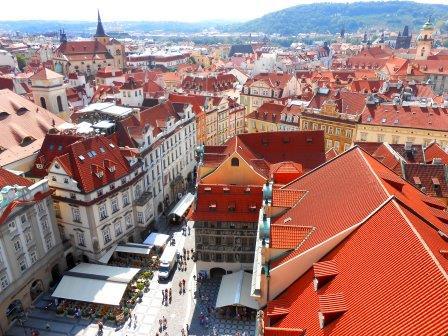 ユーラシア旅行社で行くチェコツアー、プラハ