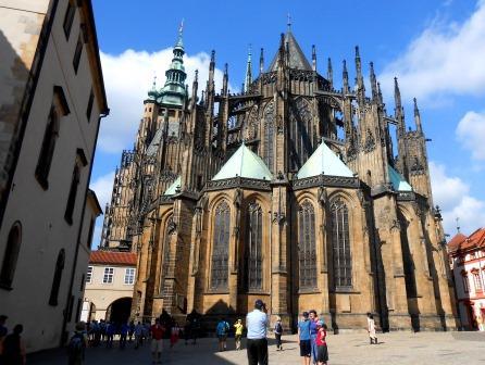聖ヴィート大聖堂、チェコ、ユーラシア旅行社で行くチェコツアー