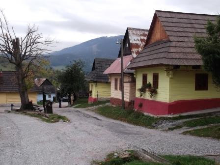 ユーラシア旅行社のスロヴァキアツアー、ヴルコリニェツの村