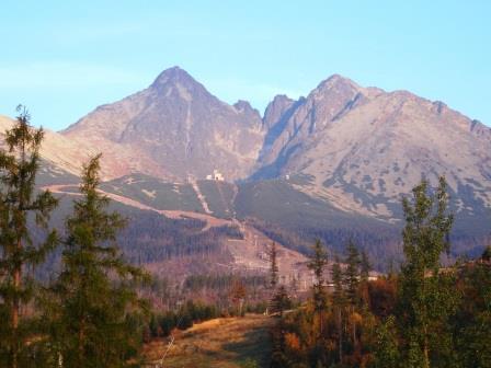 ユーラシア旅行社のスロヴァキアツアー、タトラ山脈のロムニツキー・シュティート