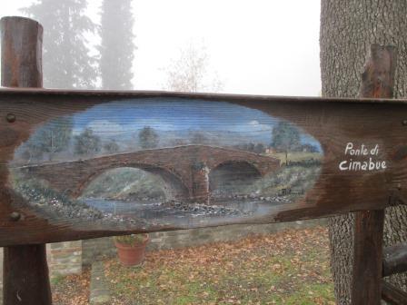 ジョットがチマブーエにスカウトされた石橋(イメージ)