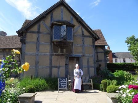 ストラットフォード・アポン・エイボンのシェイクスピアの生家