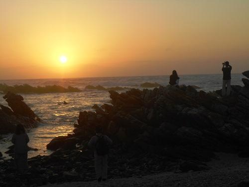 アグラス岬 日の出