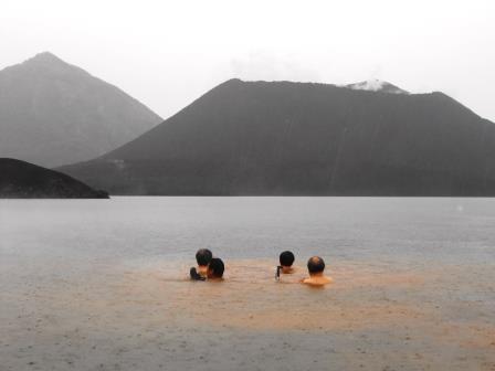 ラバウル温泉