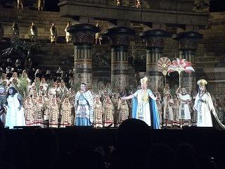 ヴェローナ音楽祭にて